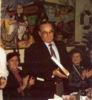 Luis Cárabe, primer presidente  de la Federación
